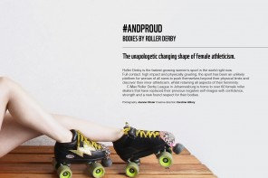 THE CHANGING SHAPE OF FEMALE ROLLER DERBY BODIES